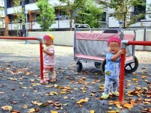 0才児お散歩